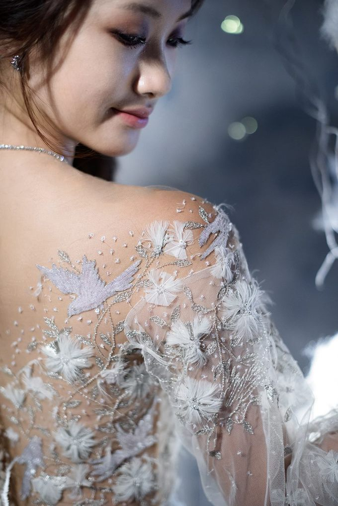 Winters Night Wedding Inspiration by Spellbound Weddings - 002