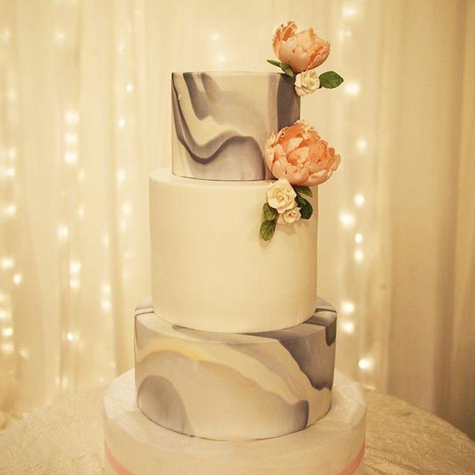Wedding cakes by Delectable By Su - 003