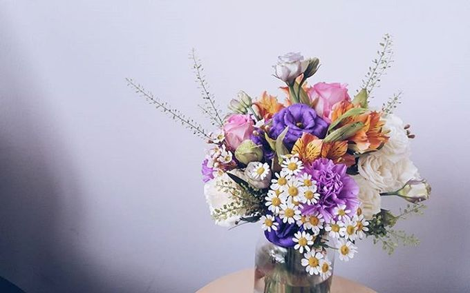Garden Inspired Bouquets III by Keira Floral - 028