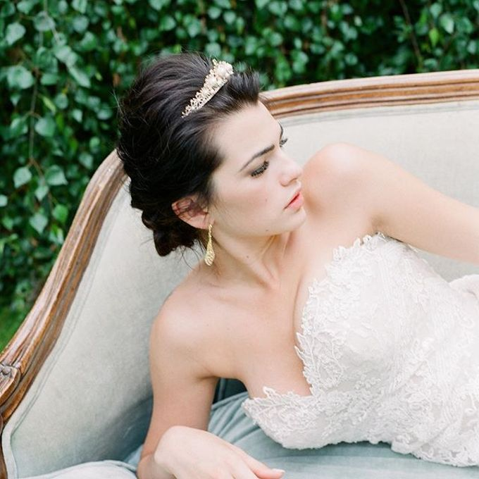 Regal Bridal Crowns and Tiaras and Headpieces by Eden Luxe Bridal - 026