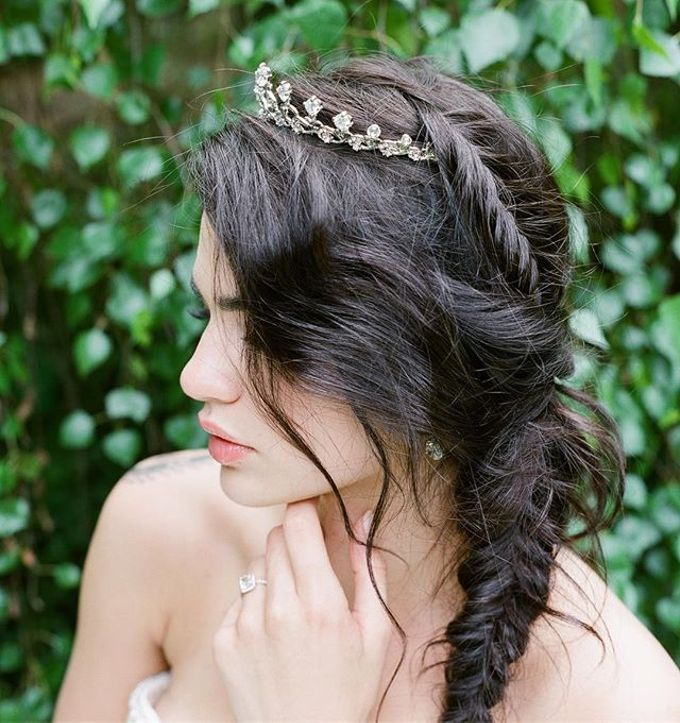 Regal Bridal Crowns and Tiaras and Headpieces by Eden Luxe Bridal - 027