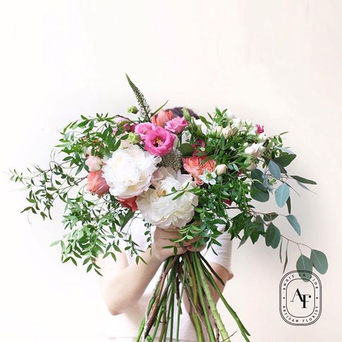 Bride Bouquet by Angie Fior - 011