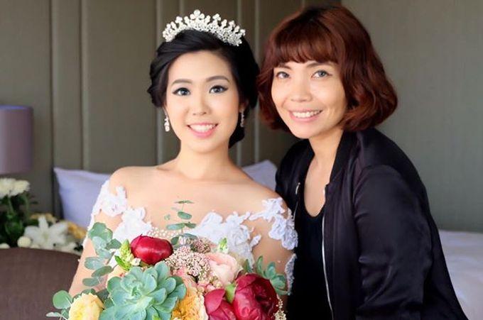 Wedding Makeup ,Mom ,Sister by Niken Xu Makeup Artist - 015