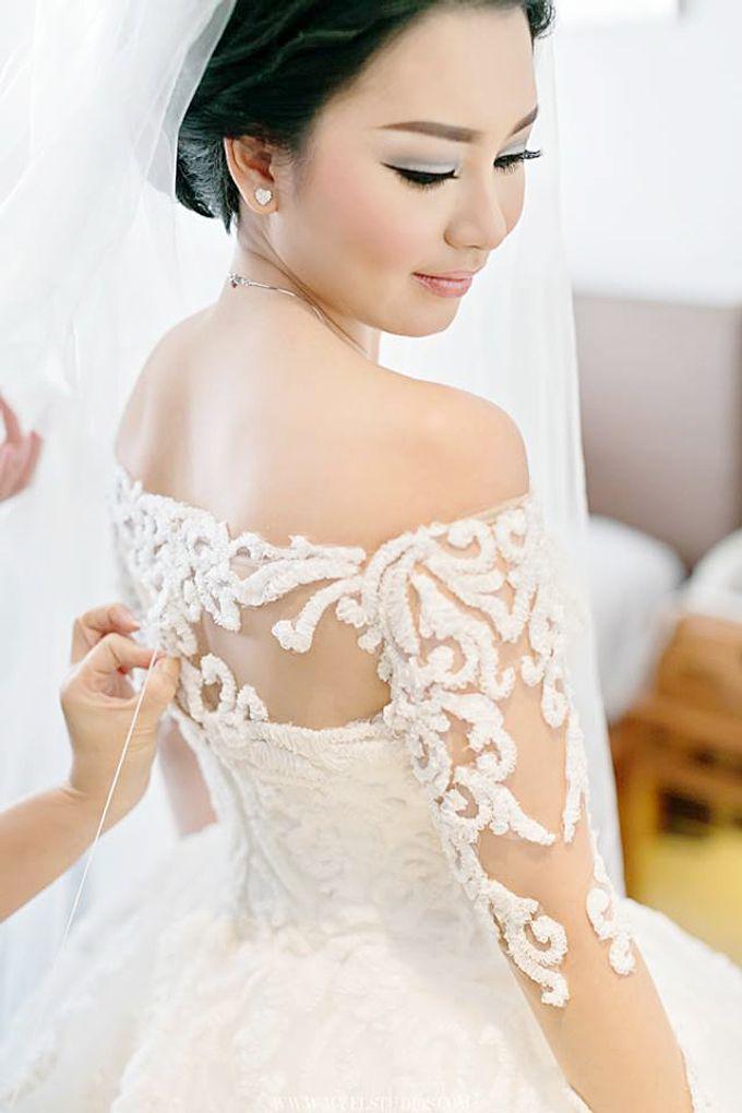 WEDDING DAY FOR ALBERT & DEVI by Fedya Make Up Artist - 004