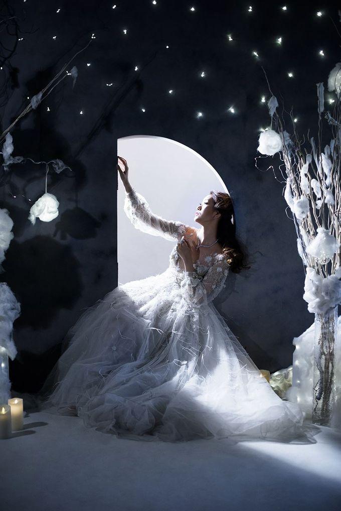 Winters Night Wedding Inspiration by Spellbound Weddings - 001