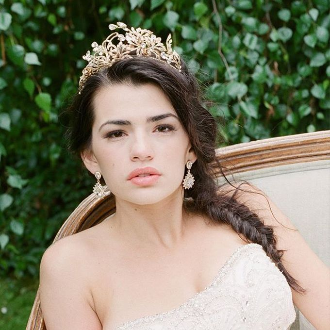 More Crowns Tiaras and Headpieces by Eden Luxe Bridal - 033