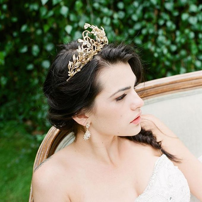 More Crowns Tiaras and Headpieces by Eden Luxe Bridal - 032