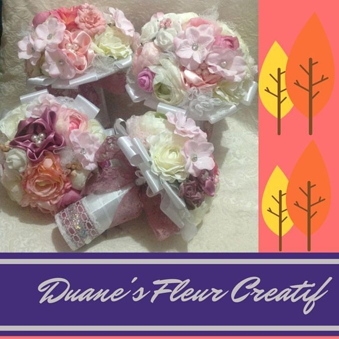 Handcrafted Bouquets and Wedding Accessories  by Duane's Fleur Creatif - 027