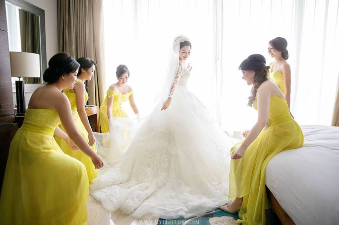 WEDDING DAY FOR ALBERT & DEVI by Fedya Make Up Artist - 006