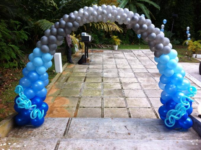 Wedding Arch by Balloon Blasters - 004