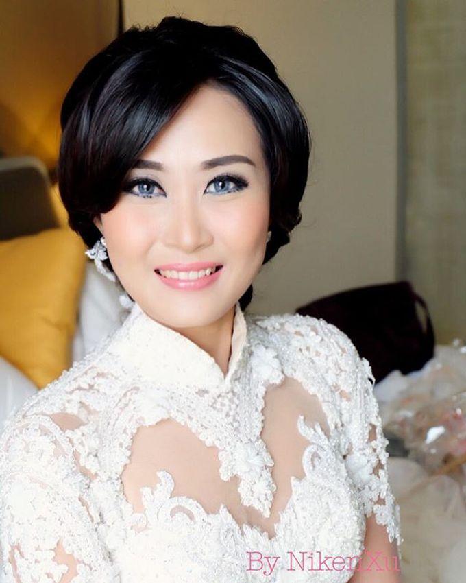 Wedding Makeup ,Mom ,Sister by Niken Xu Makeup Artist - 017