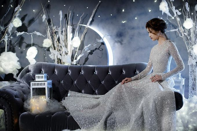 Winters Night Wedding Inspiration by Spellbound Weddings - 004