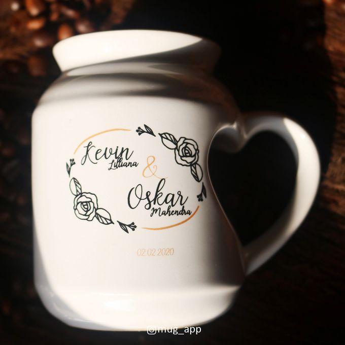 MUG MEME LOVE WEDDING KEVIN LILIANA & OSKAR MAHENDRA by Mug-App Wedding Souvenir - 008