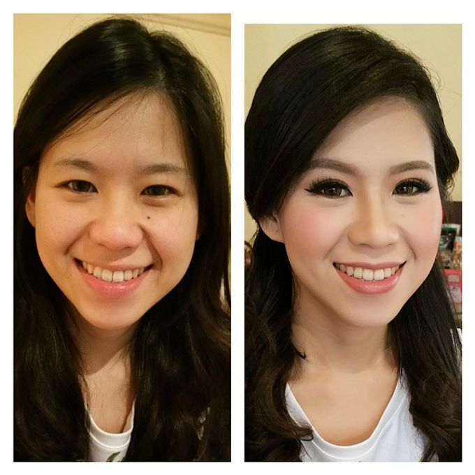 Before and After by Elly Liana Makeup Artist - 002