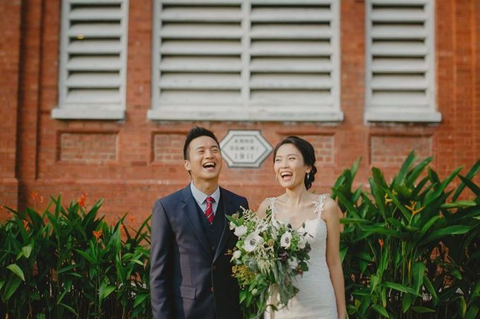 St Georges Church Wedding - Yu Lan & Wayne by Samuel Goh Photography - 015