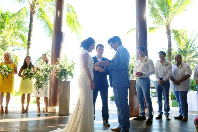 Wedding in Villa Pantai Lima by Bali Tie d' Knot - 009