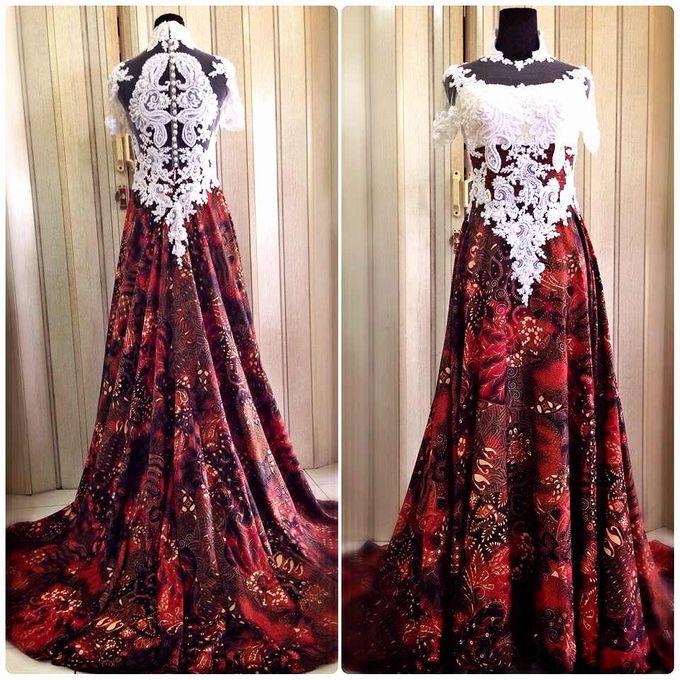 Batik Wedding Dress By Gladicious