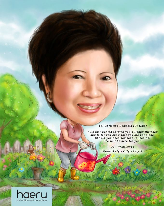 Premium Caricature for Gift by haeru Animation and Caricature - 005