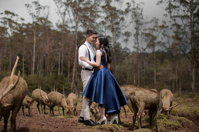 Outdoor Prewedding-Ranca Upas by King Foto & Bridal Image Wedding - 002