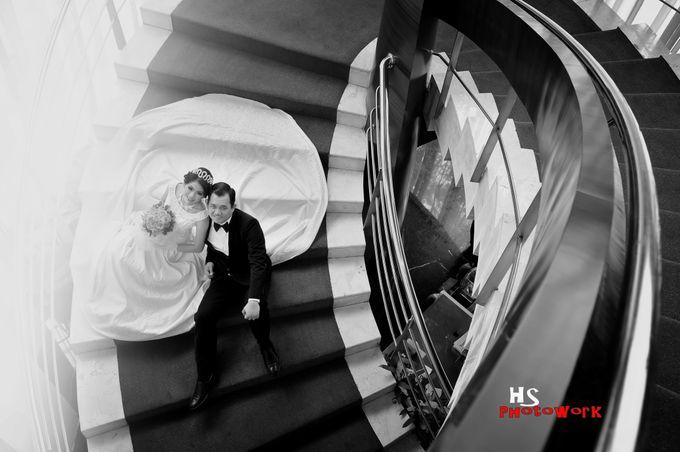 prewedding in black 'n white by HS Photoworks - 005