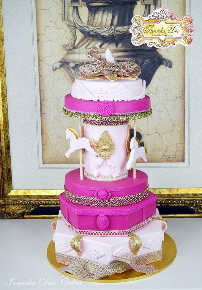 Wedding Cakes by Innicka Dee Cakes - 016