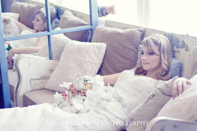 Vintage Wedding Styled Shoot by Macpherson Photography - 002