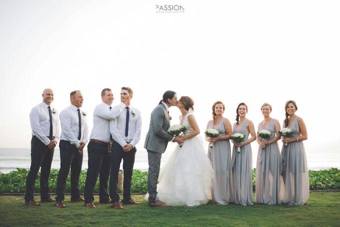 Nagisa Bali Wedding For Tahlia & Cam by Nagisa Bali - 012