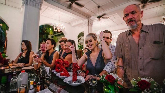 Wedding of Ian & Kelly @ Halia at Raffles Hotel by The Halia - 013
