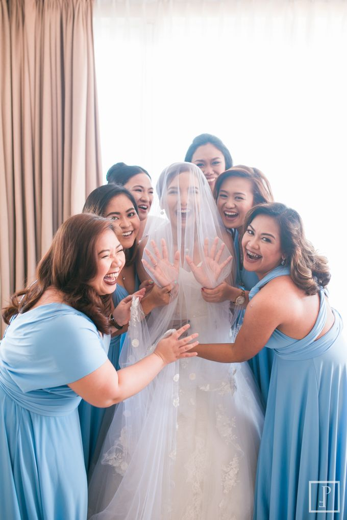 Blue Themed Wedding of CJ  and  Jane by Peach Frost Studio - 037