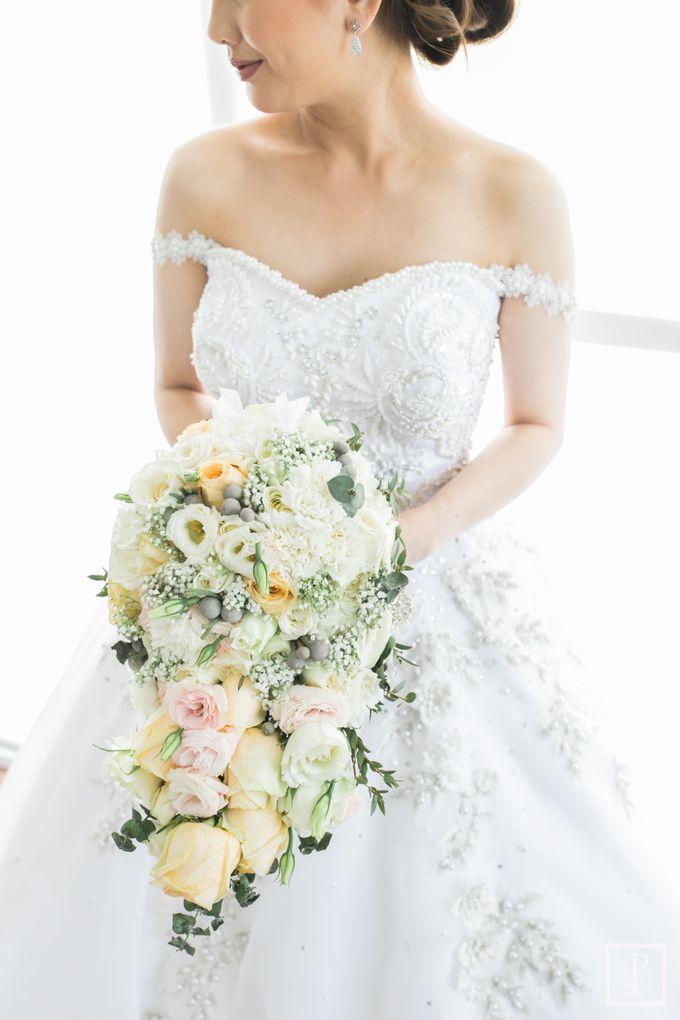 A Modern Peach Themed Tagaytay Wedding by Peach Frost Studio - 014
