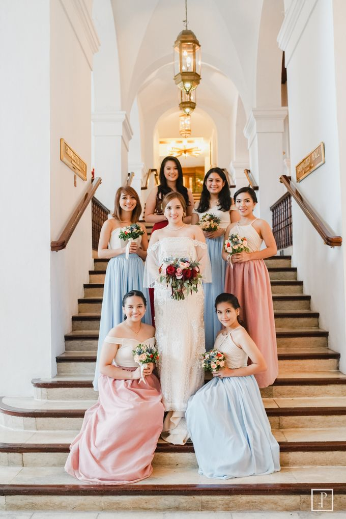 A Modern Filipiniana Wedding of Richie & Kyle by Peach Frost Studio - 035