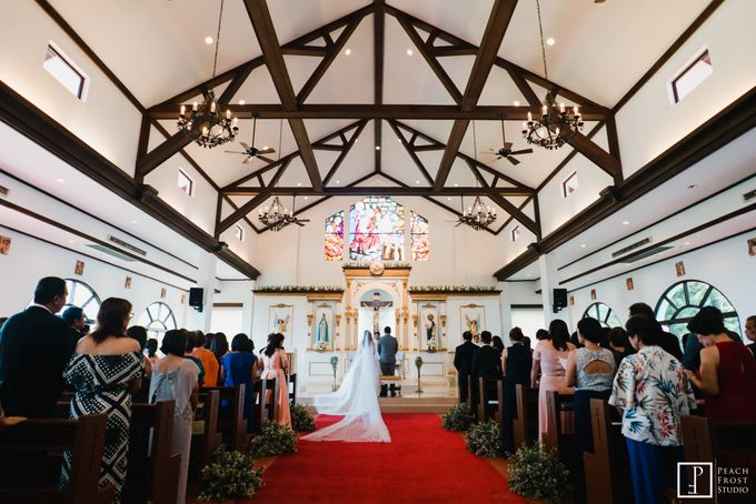 Tina & Niel's Peach Themed Intimtate Wedding in Tagaytay Highlands by Peach Frost Studio - 023