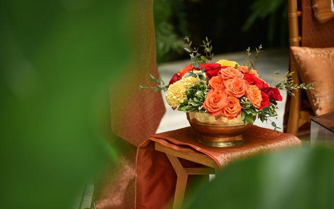 Minangkabau Traditional wedding set up at The Glass House by Tirtha Bridal - 014