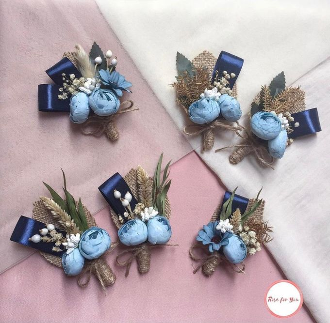 Boutonniere & Corsage by Rose For You - 014