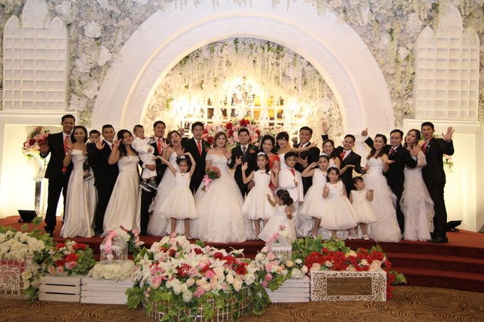 Wedding party of David and Shu Li at Angke Restaurant by Angke Restaurant & Ballroom Jakarta - 011