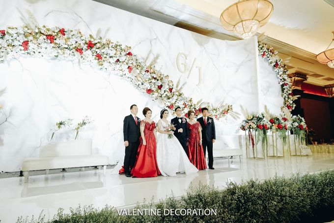 Glenn & Jesslyn Wedding Decoration by Valentine Wedding Decoration - 014