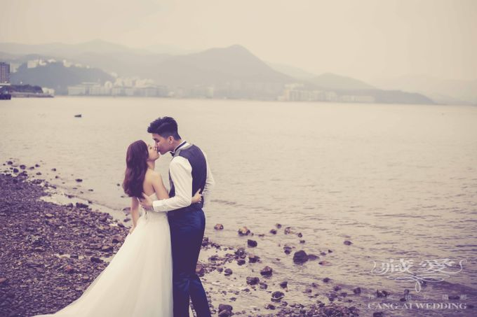 Streets of HK by Cang Ai Wedding - 007