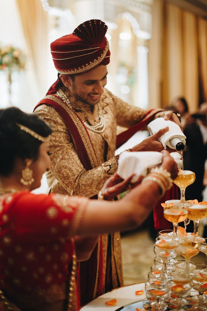 Sahil & Sita Wedding by Hilda by Bridestory - 015