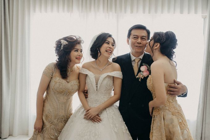 Andre & Elvira Wedding by Dhika by MA Fotografia - 014