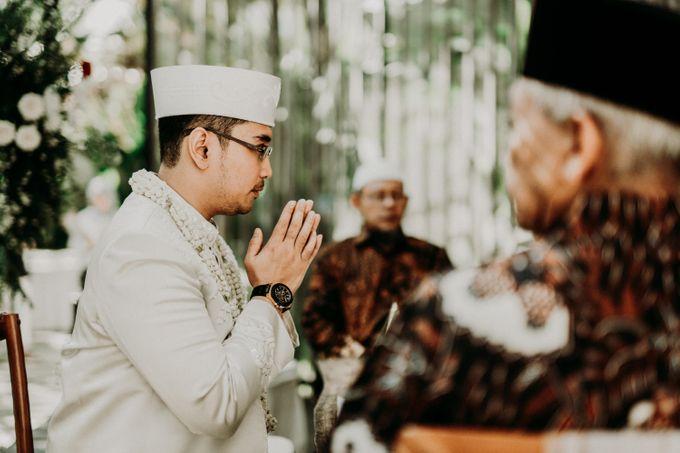 Dheafina & Nur Wedding at Azila Villa by AKSA Creative - 014