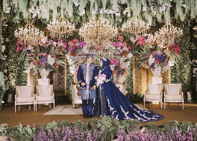 Blue color themed Wedding by SLIGHTshop.com - 001