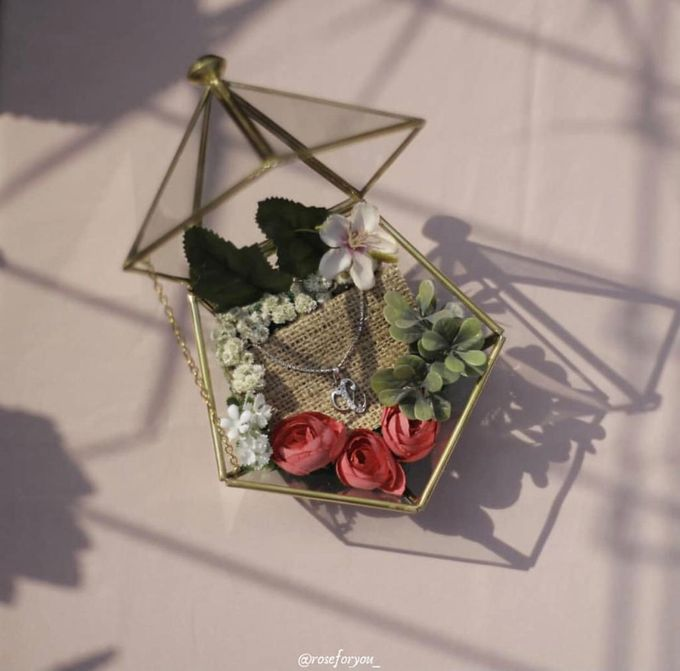 Ring Box by Rose For You - 014