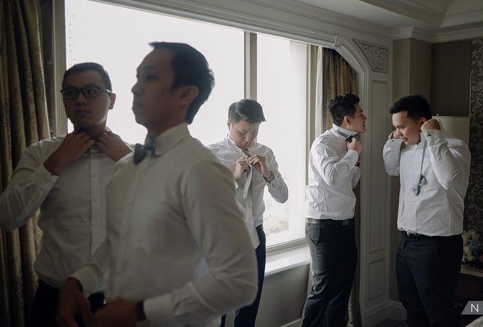 Felix & Hanna Wedding by Shangri-La Hotel - 014