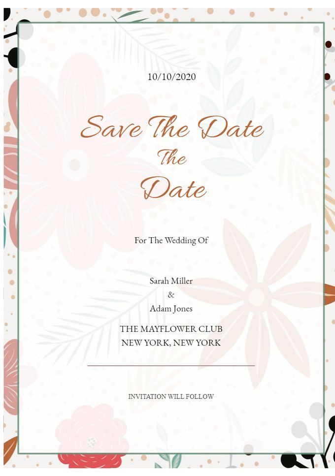 save the date by Save The Date - 006