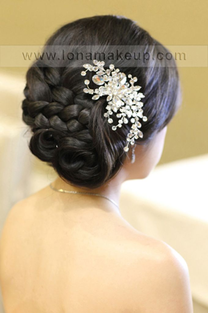 Bridal Hair by Lona Makeup - 010