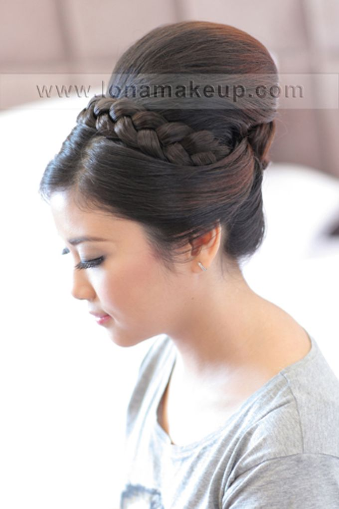 Bridal Hair by Lona Makeup - 011