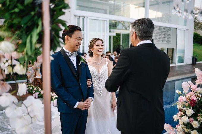 The Wedding of Donald & Larissa by BDD Weddings Indonesia - 014