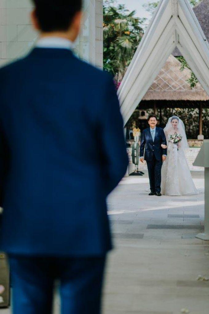 The Wedding of Larrie & Vivienne by BDD Weddings Indonesia - 014