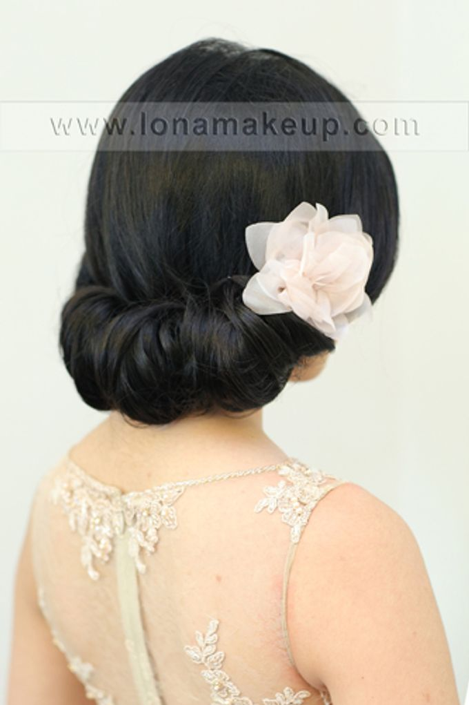 Bridal Hair by Lona Makeup - 012