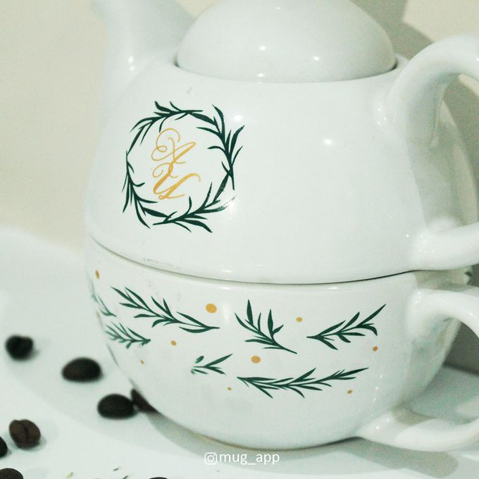 TEKO SUSUN ALADIN SIMPLE DESIGN by Mug-App Wedding Souvenir - 003